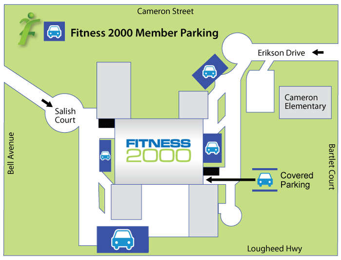 Fitness2000 Parking
