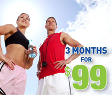 Summer Special - 3 Months for $99
