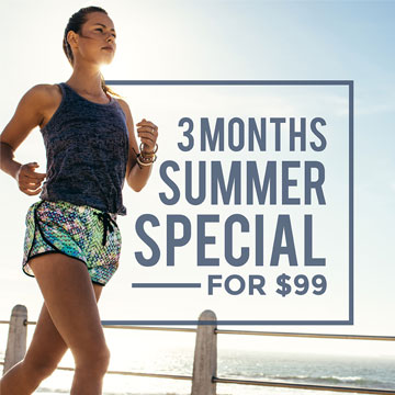 Summer Special – 3 Months for $99