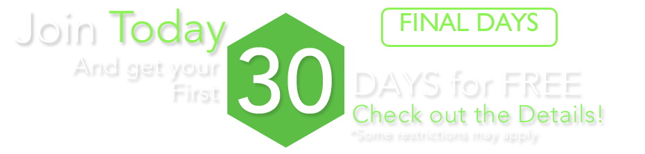 Join and get 30 days free