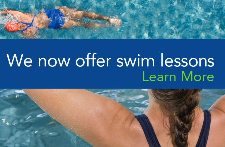 We now offer swim lessons